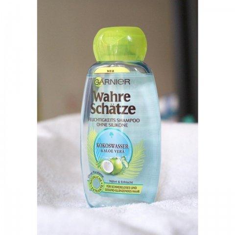Wahre Schätze - Feuchtigkeitsshampoo ohne Silikone - Kokoswasser & Aloe Vera von Garnier