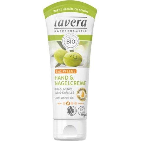 Hand & Nagelcreme 2in1  Bio-Olivenöl & Bio-Kamille von Lavera