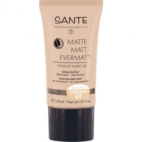 Matte Matt Evermat Mineral Make up von Sante