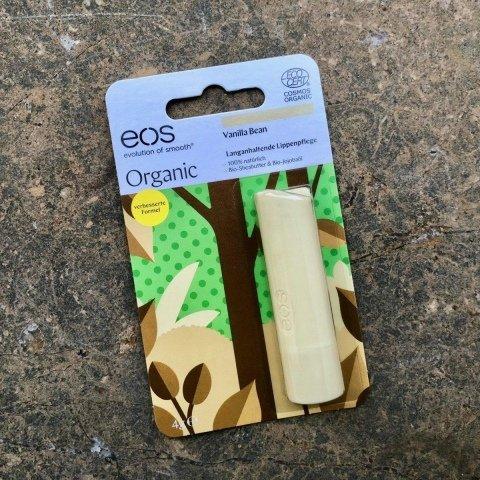Organic Stick Lip Balm Vanilla Bean von eos