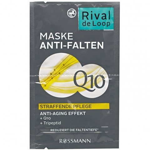 Anti-Falten Maske Q10 von Rival de Loop