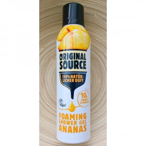 Foaming Shower Gel Ananas von Original Source