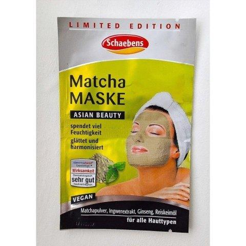 Matcha Maske von Schaebens
