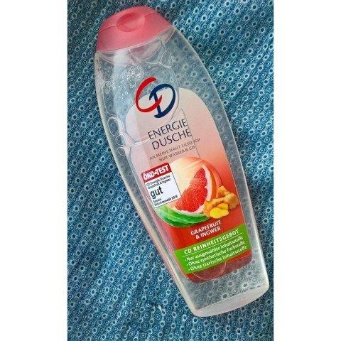 Dusche Energie Grapefruit & Ingwer von CD