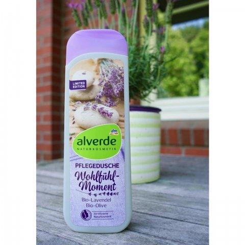 Pflegedusche - Wohlfühlmoment - Bio-Lavendel Bio-Olive von alverde