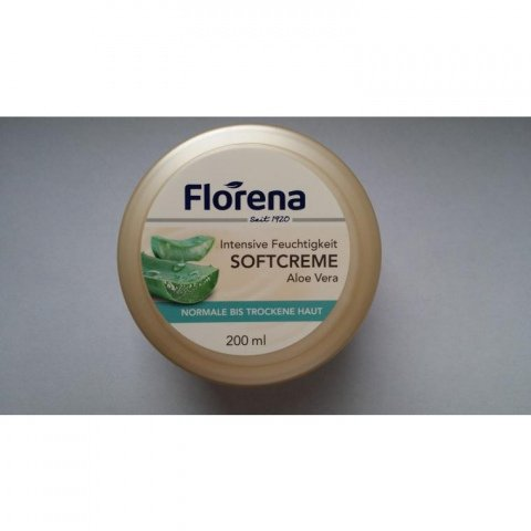 Intensive Feuchtigkeit - Softcreme - Aloe Vera von Florena