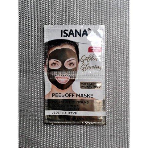 Golden Glamour Peel-off Maske von Isana