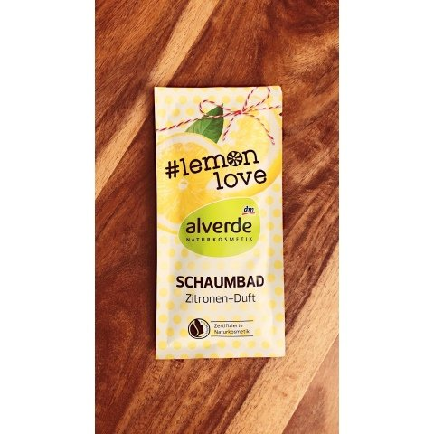 Schaumbad #lemon love Zitronen-Duft von alverde