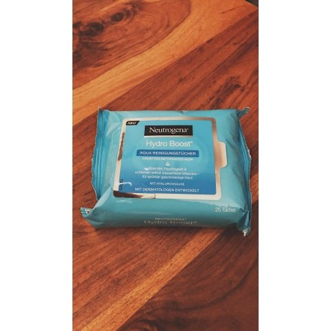 Hydro Boost - Aqua Reinigungstücher von Neutrogena