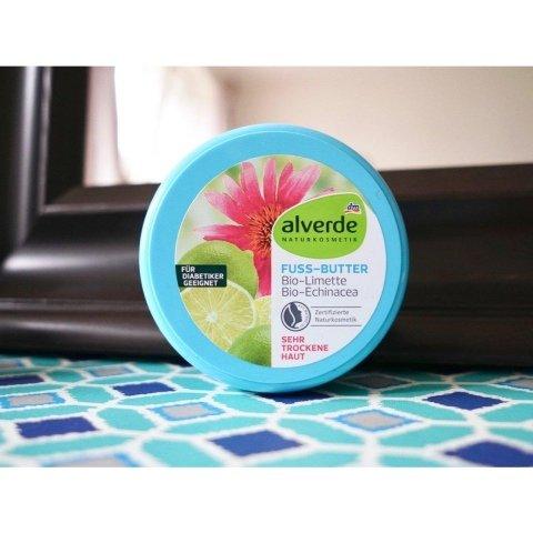 Fuß-Butter Bio-Limette Bio-Echinacea von alverde