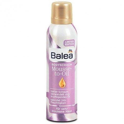 Mousse-to-Oil Bodyschaum von Balea