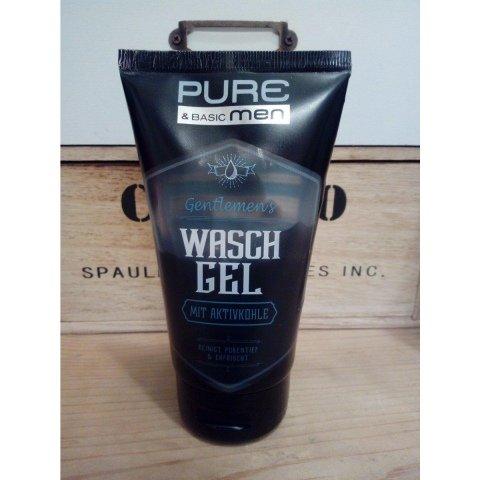 Gentlemen's Waschgel mit Aktivkohle von Pure & Basic