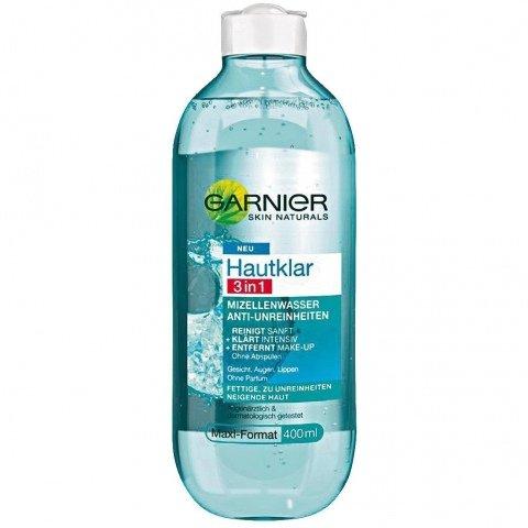 Hautklar - 3 in 1 Mizellenwasser Anti-Unreinheiten von Garnier