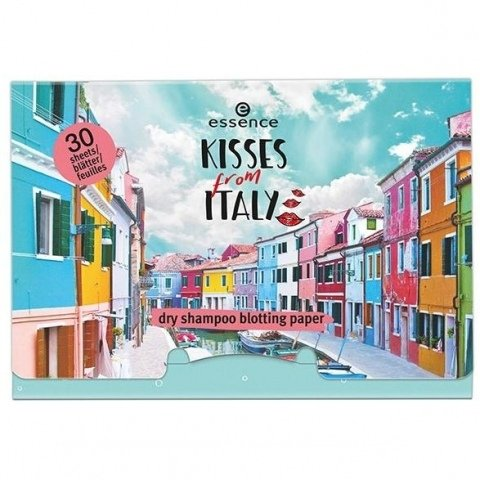 Kisses from Italy - dry shampoo blotting paper von essence
