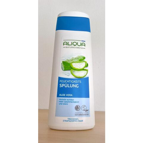 Feuchtigkeitsspülung Aloe Vera von Budni Aliqua Naturkosmetik
