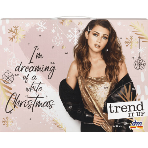 I'm Dreaming of a White Christmas Adventskalender 2019 von trend IT UP