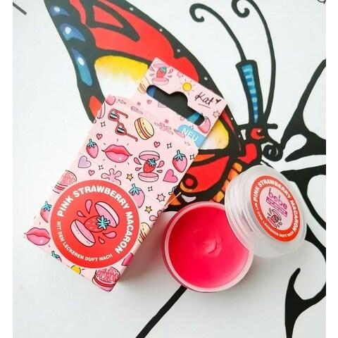 Lip Butter - Pink Strawberry Macaron von Bebe