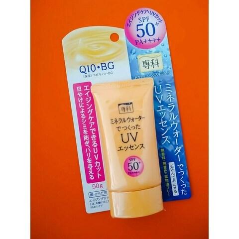 Aging Care UV Sunscreen SPF 50+ von Shiseido Senka
