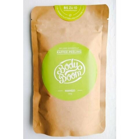 Kaffee-Peeling Mango von Body Boom