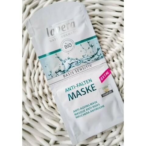 Basis Sensitiv - Anti-Falten Maske Q10 von Lavera