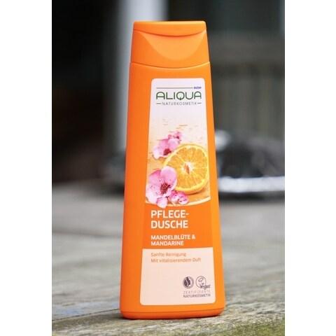 Pflegedusche Mandelblüte & Mandarine von Budni Aliqua Naturkosmetik