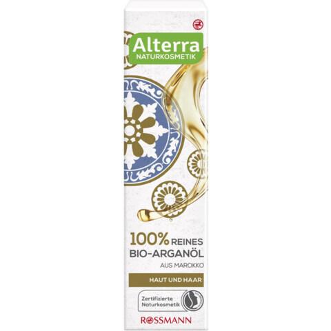 100% reines Bio-Arganöl von Alterra