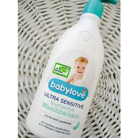 Ultra Sensitive Kopf bis Fuß Waschbalsam von babylove