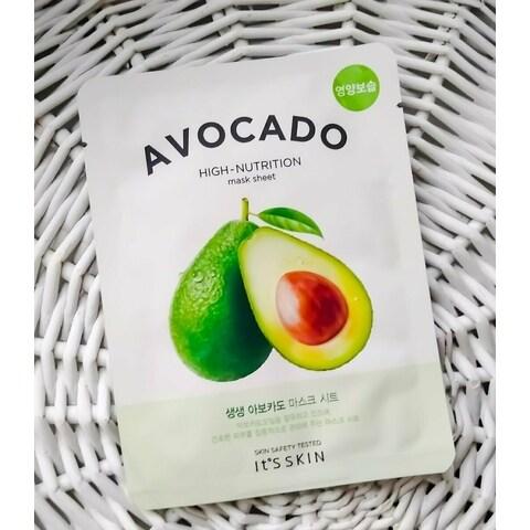 Avocado High-Nutrition Mask Sheet von It's Skin