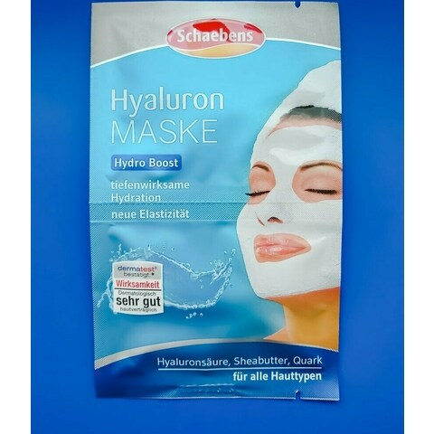 Hyaluron Maske von Schaebens