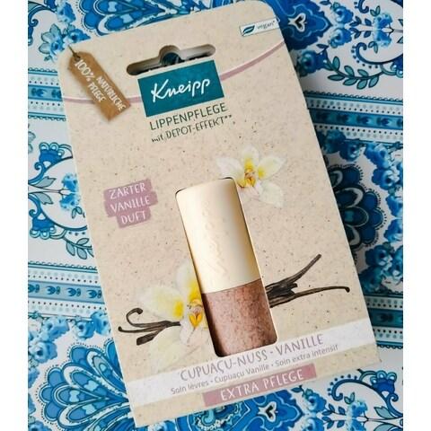 Lippenpflege mit Depot-Effekt - Cupuaçu-Nuss • Vanille von Kneipp