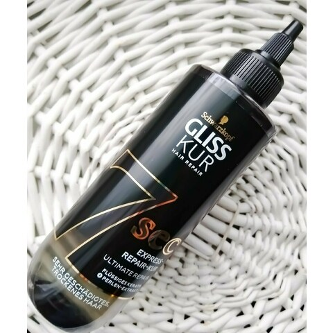 Gliss Kur - Hair Repair - Ultimate Repair - 7 Sec Express-Repair Kur von Schwarzkopf
