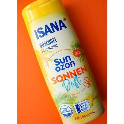 Duschgel mit Original Sun Ozon Sonnenduft von Isana